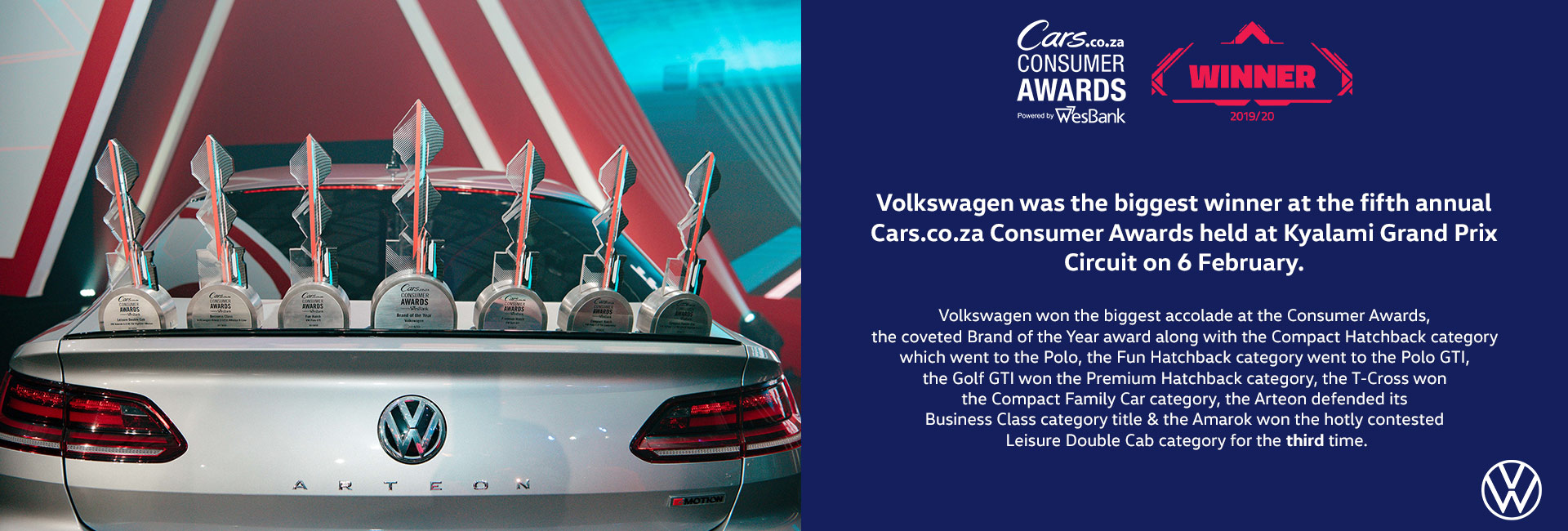 VW Car Awards